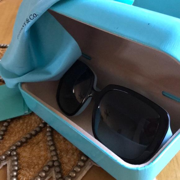 Tiffany & Co square gradient sunglasses